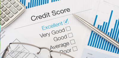Credit score with calculator