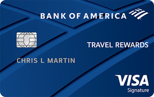 Bank of America® Travel Rewards Visa® credit card - 25,000 Bonus Points Offer