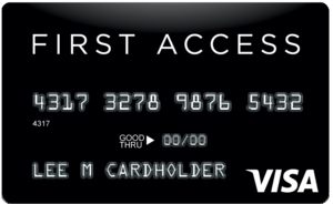First Access Visa® Credit Card