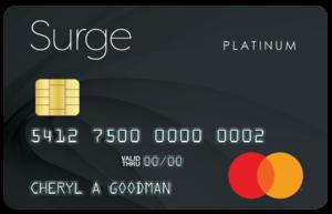 Surge card art