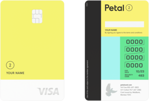"Petal® 2 ""Cash Back, No Fees"" Visa® Credit Card"