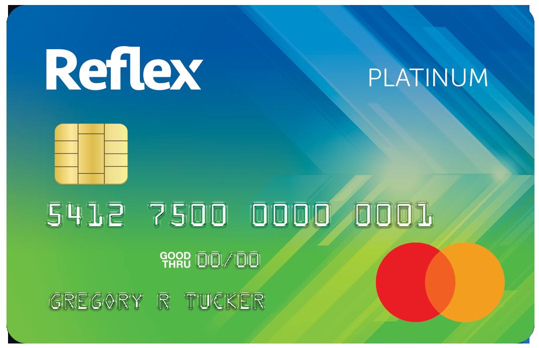 Reflex Mastercard® Credit Card Image