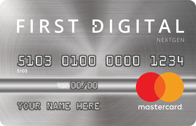 First Digital NextGen Mastercard® Credit Card Image