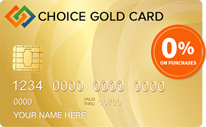 Choice Gold Card