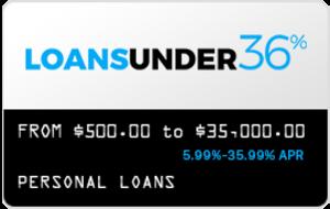 Loans Under 36 - Personal Loan