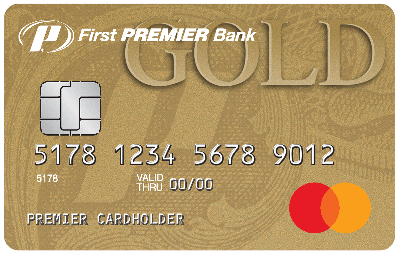 First PREMIER® Bank Gold Credit Card Image